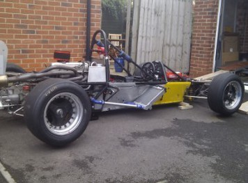 Reverse Engineer 'PilBeam Formula Ford 2000' Race Car