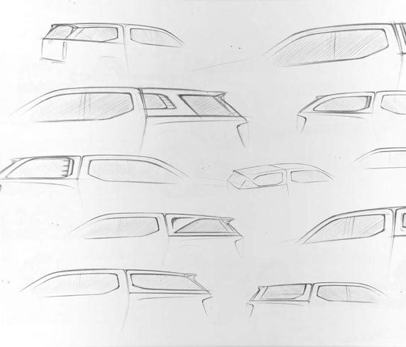 Canopies Sketches