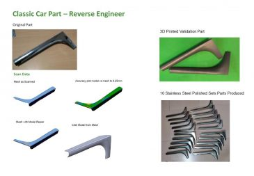 Classic Car Part Reverse Engineer 2