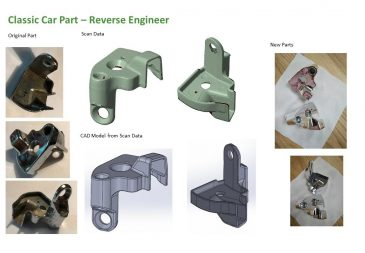 Classic Car Part Reverse Engineer 1
