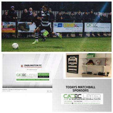 Darlington FC Sponsorship