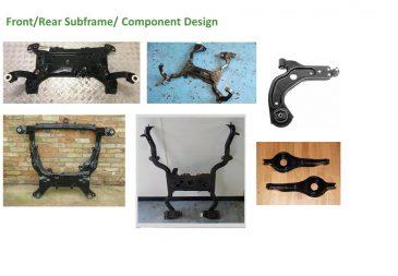 Front Rear Subframe Component Design 1