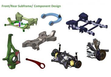 Front Rear Subframe Component Design 2