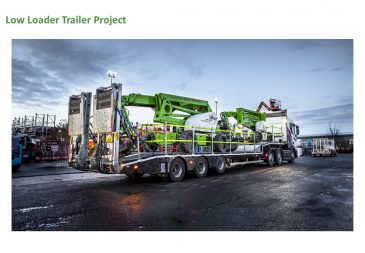 Low Loader Trailer Project