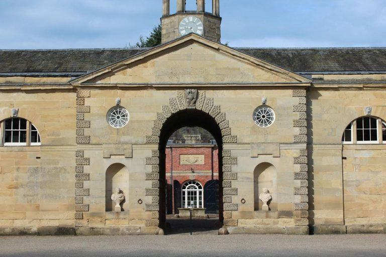 Newby Hall Stables Archway