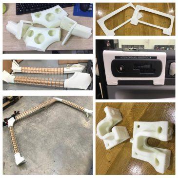 3D Printing SLA Nodes Proto Frame